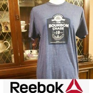 Size M Reebok Short Sleeve Blue Shirt